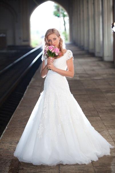 Светлана .платье 5754 из коллекции Fara Sposa. фотограф Антон Бут