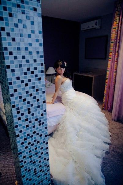 Кристина. платье  5809 из коллеции Fara Sposa.