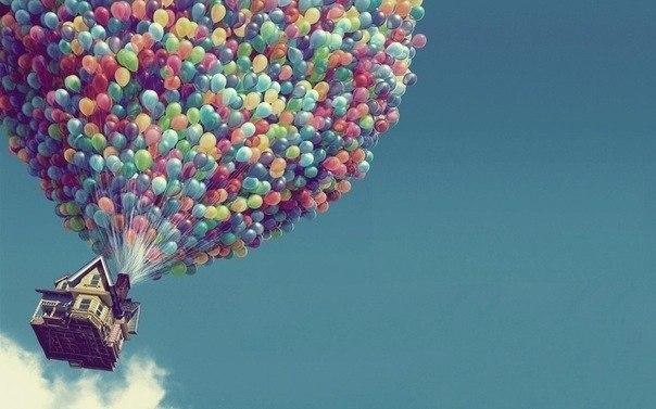 Весточка на воздушном шарике