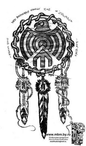 Каталог графики и эскизов.  Этно - татуировки.