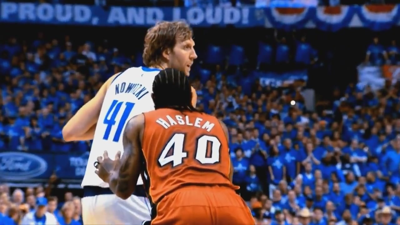 Dirk and Haslem