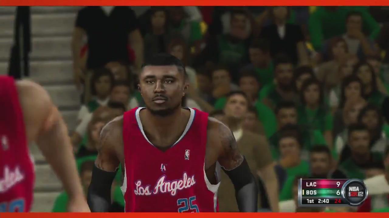 Мо Уильямс - Клипперс НБА2К12