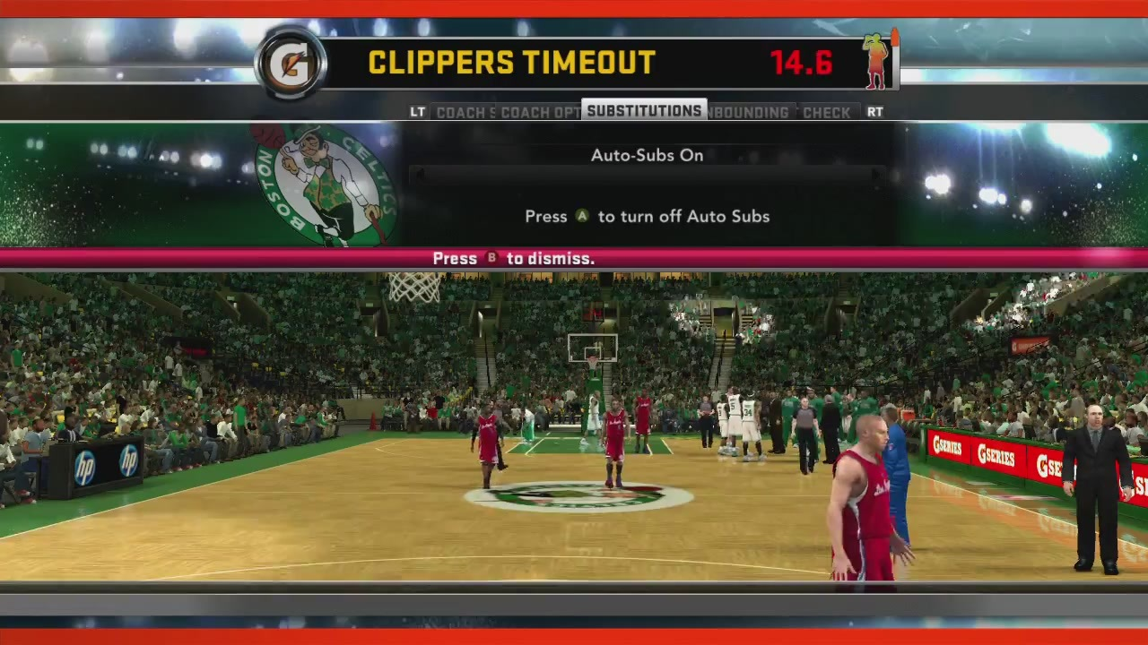 Clippers timeout