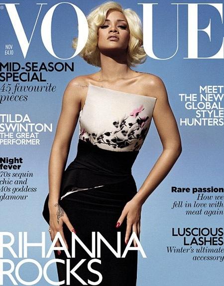 Rihanna стала блондинкой