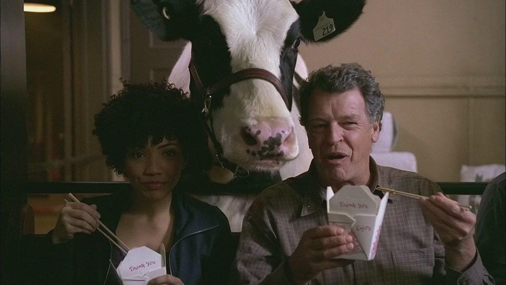 Корова, агент и доктор бишоп