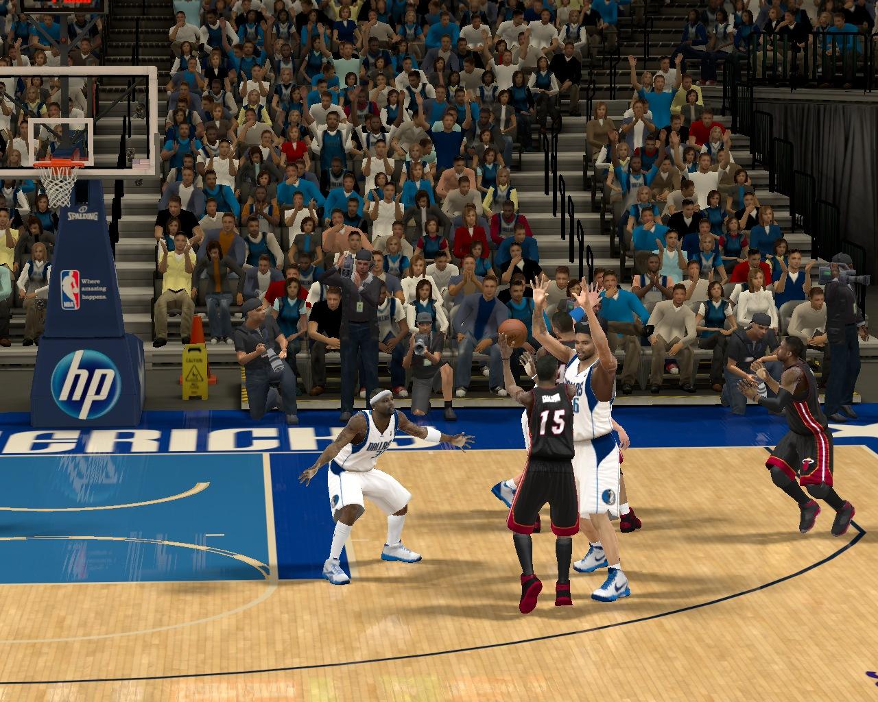 Защита в НБА2К12