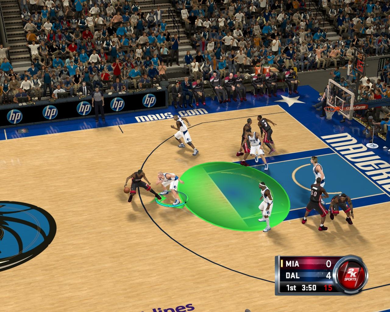 Зонная защита - баскетбол