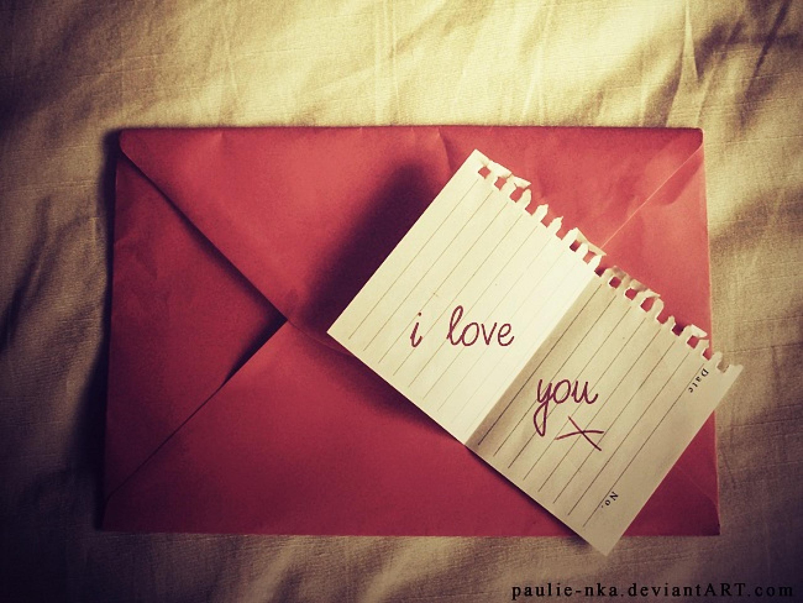 Письмо любимой девушке: как сделать послание интересным 56
