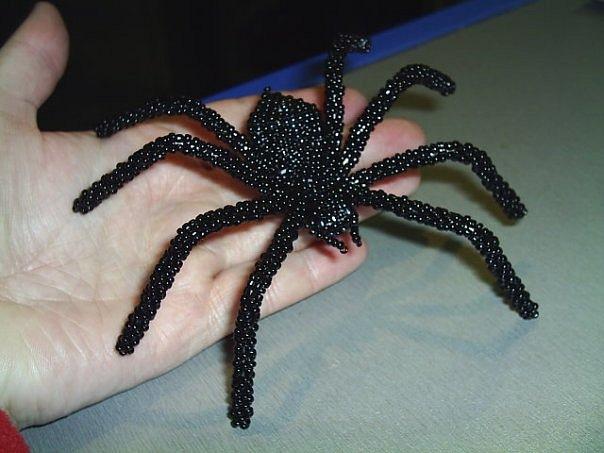 Как сделать из проволоки паука