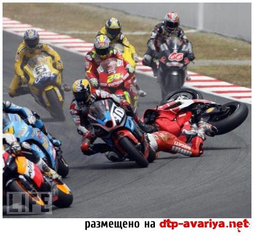 мото гонки фото