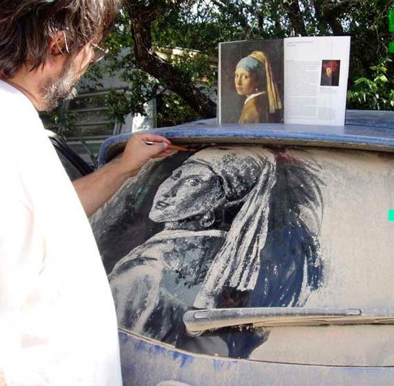 Живопись на грязных машинах