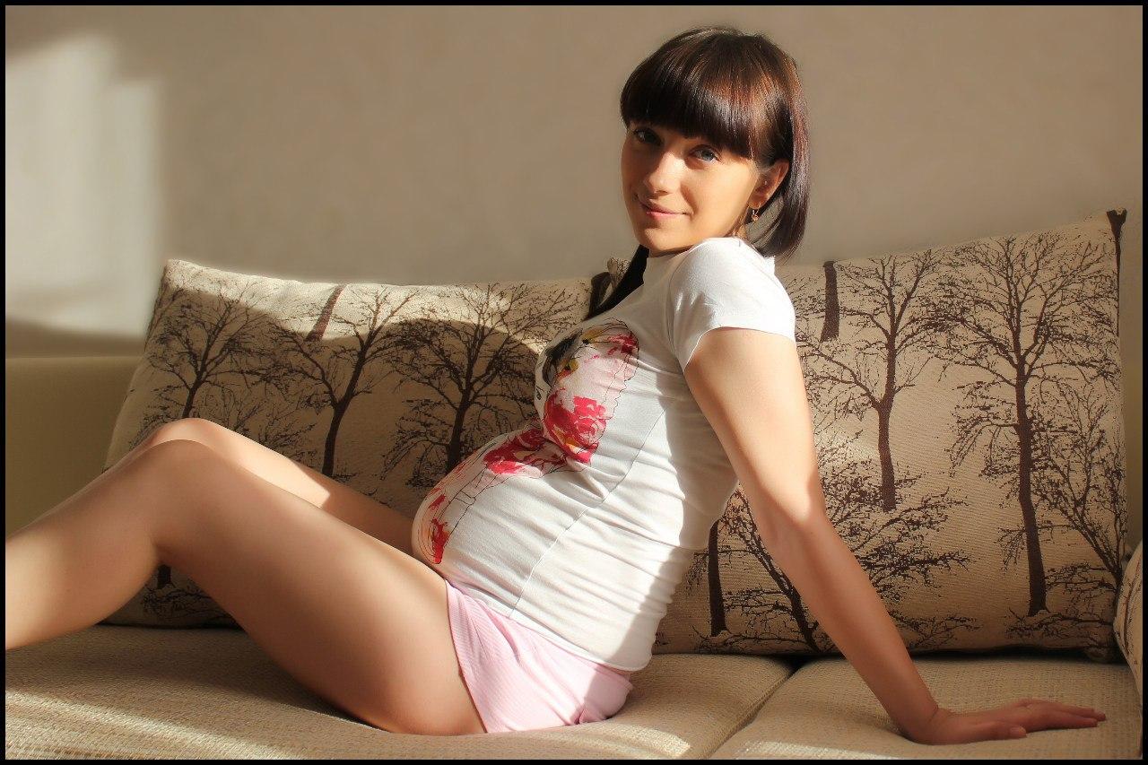 Частное фото беременных девушек 7 фотография