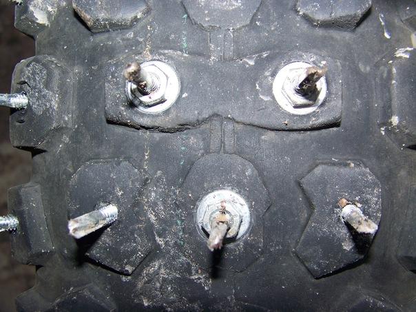 Самодельная шиповка колес - Клуб автолюбителей - Авто 62