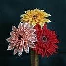 На занятиях мы изготовим из бисера различные украшения, великолепные цветы, и даже деревья.