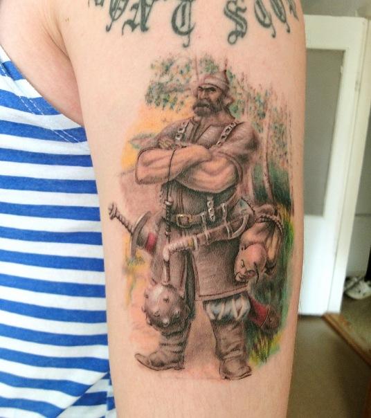 Фото татуировок ильи черта