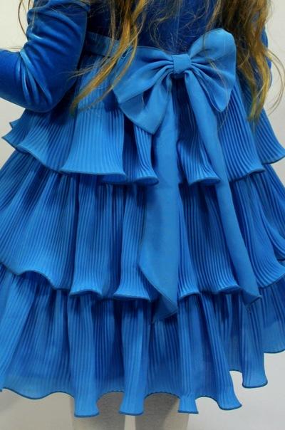 Гофре, плиссе на ткани по готовым формам.  Так выглядит соломка) (юбка)