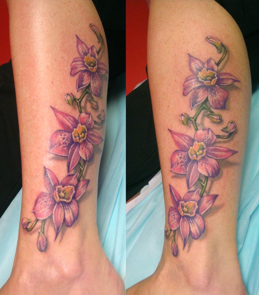 Татуировки и их значение цветок
