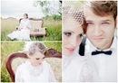 Макияж и прическа невесты должны тоже быть в винтажном стиле.