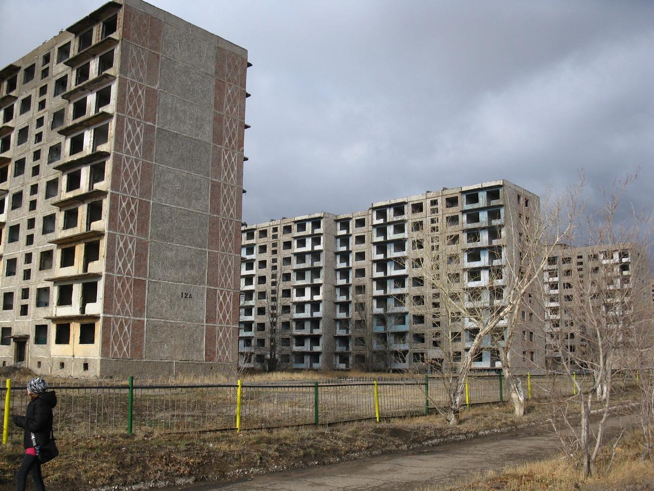 всегда заброшенные города казахстана фото для