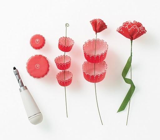 Цветы для штор своими руками - Самодельные