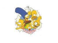 """Автор схемы  """"Симпсоны """". схема. lira_linda.  Размеры: 190 x 143 крестов.  0. Картинки."""