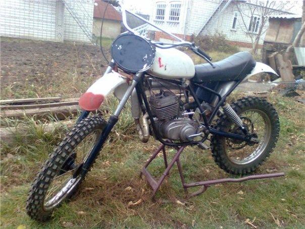 Кроссовый мотоцикл минск своими руками