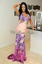 Длинное летнее платье Hot Miami Styles 5810.  Украшено стеклярусом.