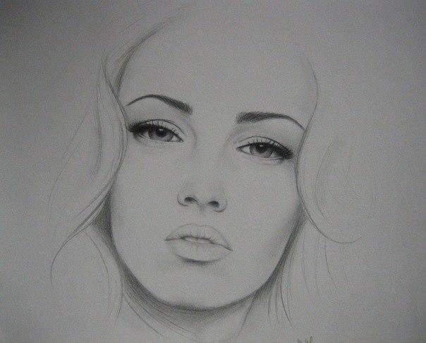 Картинки нарисованных грустных девушек