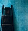 Плитка с имитацией крокодиловой кожи для ванной комнаты.