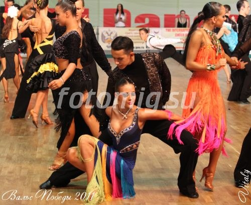 бальные танцы засветы