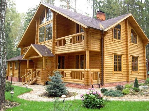 Деревянные дома заняли первое место по итогам 2010 года в России.