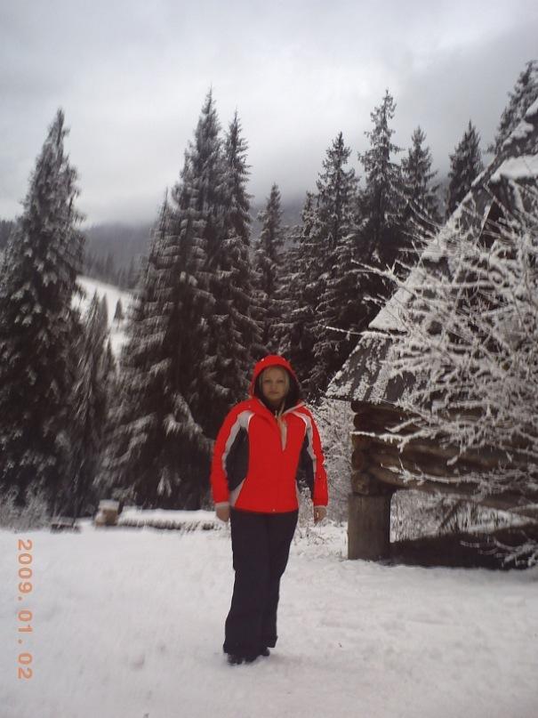 Мои путешествия. Елена Руденко. Карпаты ( Буковель. Ворохта ) январь 2011 г.  Y_0ae10a1e