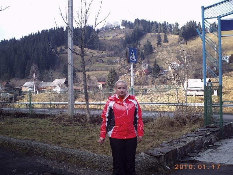 Мои путешествия. Елена Руденко. Карпаты ( Буковель. Ворохта ) январь 2011 г.  Y_56263b06