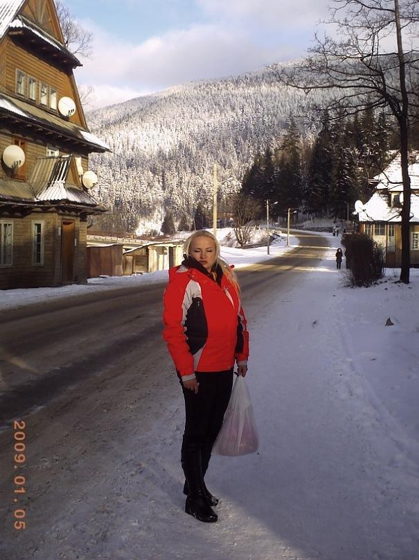 Мои путешествия. Елена Руденко. Карпаты ( Буковель. Ворохта ) январь 2011 г.  Y_7d67a054