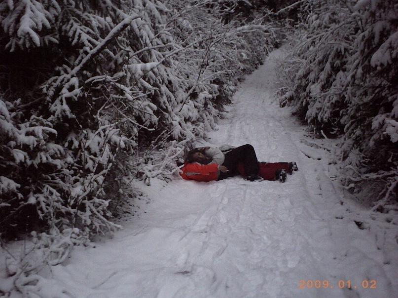 Мои путешествия. Елена Руденко. Карпаты ( Буковель. Ворохта ) январь 2011 г.  Y_7dcb61f3