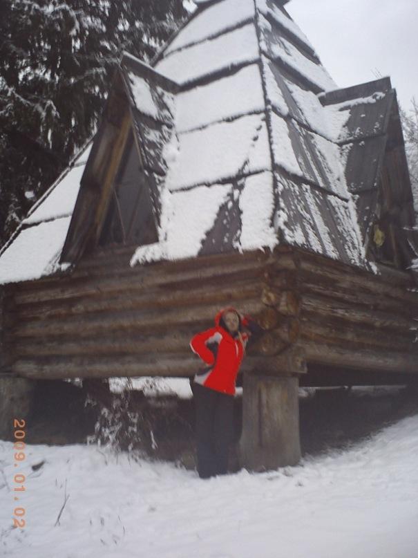 Мои путешествия. Елена Руденко. Карпаты ( Буковель. Ворохта ) январь 2011 г.  Y_c887d4c9