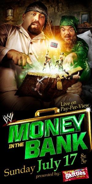 Постер к Money In The Bank 2011