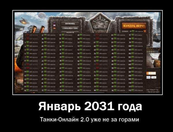 танки онлайн 2.0