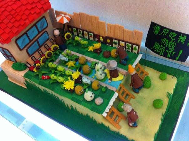 Birthday Cake House Construction Work