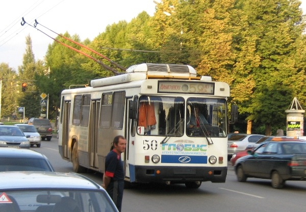 Альметьевский троллейбус