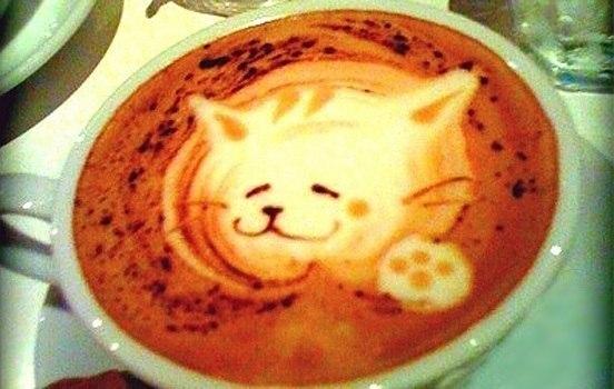 Вот ваше кофе