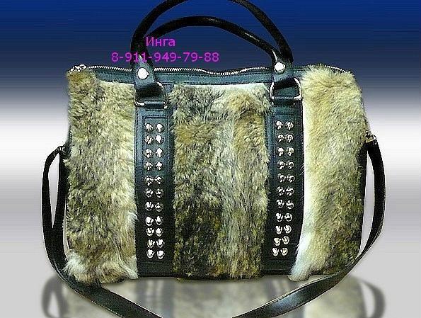 Новшество зимнего сезона 2012 - меховые сумки.  Особой популярностью и...