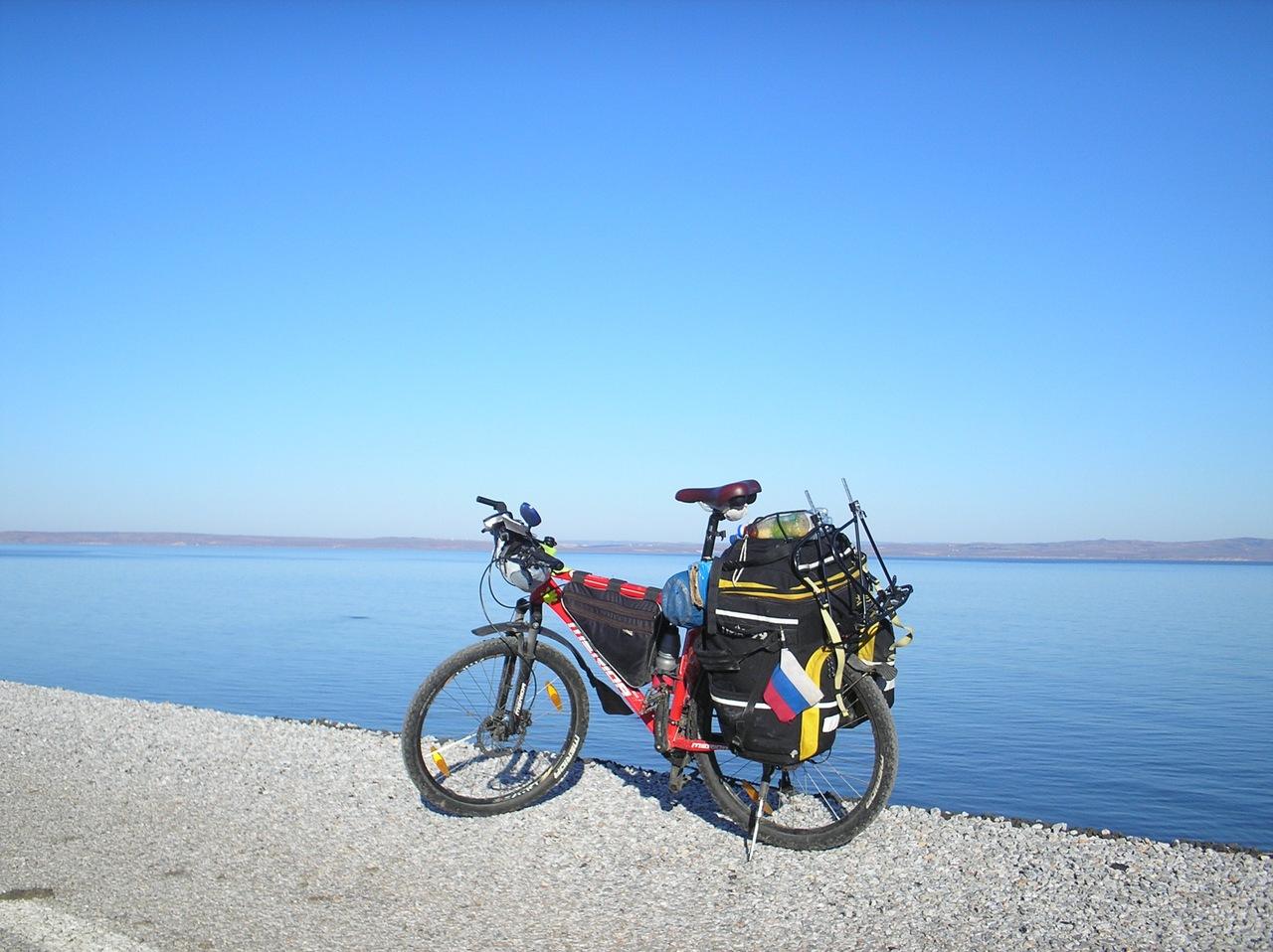 Другая Турция на велосипеде зимой. Каждый человек тоже може...
