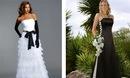 Цветные свадебные платья. bw2