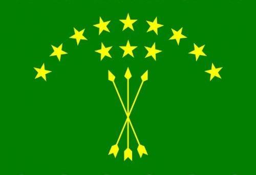 напечатать флаг