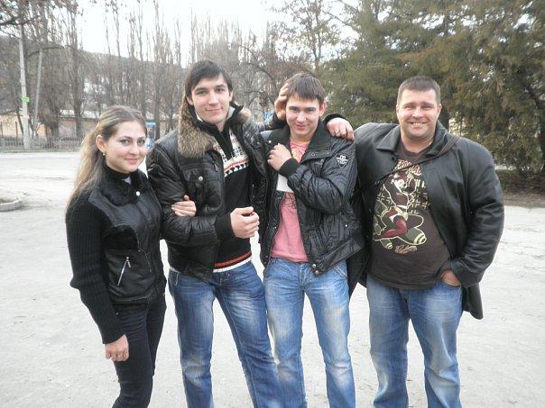 Anastasia Goncharenko, Evgeny Prudnik, Artem Taynov, Andrey Sharkoff - Crimea Championships 2010