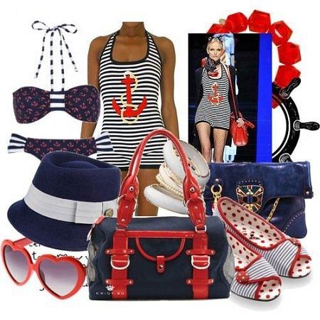 морской стиль в одежде 2012 купить вещи.