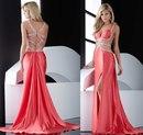 Вечерние розовые платья 2012 стали уже не менее популярны, чем белые...