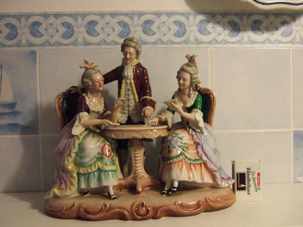 Купить Фарфоровая статуэтка из Баварии дорого Москва