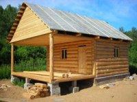 Деревянные срубы домов, дач, бань и другие добротные постройки из экологически чистого леса и пиломатериалов.